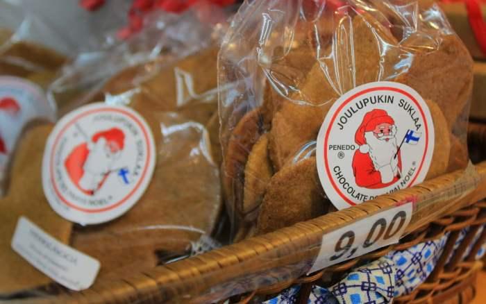 Piparkakku Christmas cookies in Penedo, Itatiaia.
