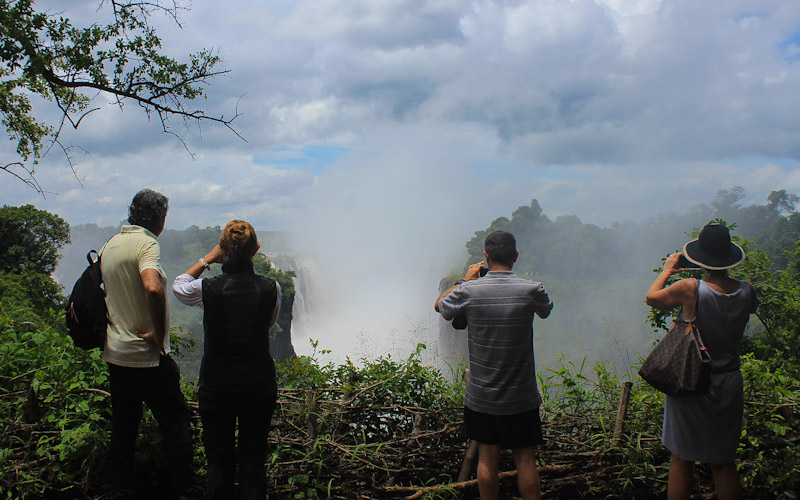 Visiting Victoria Falls in February