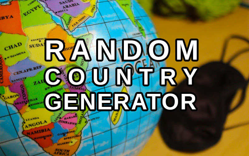 Random Asian country generator. Random destination in Asia.