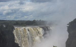 Traveling from South Africa to Kenya on Public Transport. Victoria Falls without tour.