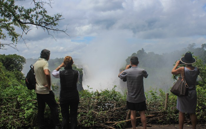 Victoria Falls viewpoint Zimbabwe/ Another 365 days/