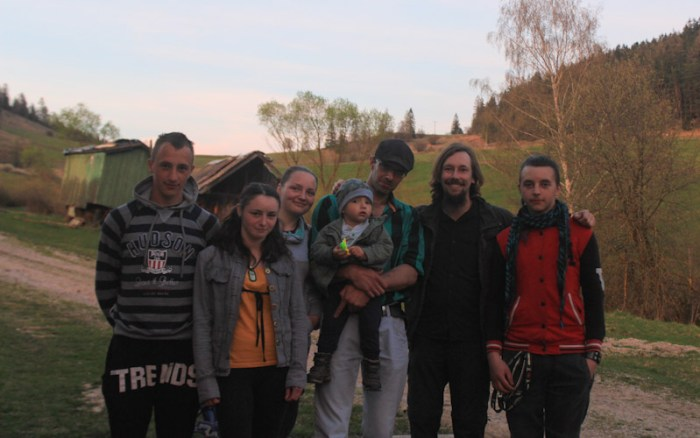 Couchsurfing in Vernar, Slovakia.