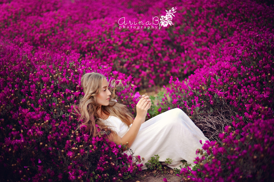 Fall Asleep With Flowers In My Head Create Shoot Arina