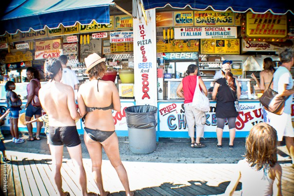 Coney Island Food Stand