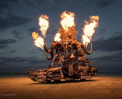 El Pulpo Mechanico by Duane Flatmo, photo by Scott London