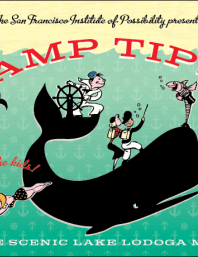 Camp Tipsy Flier, illustration design