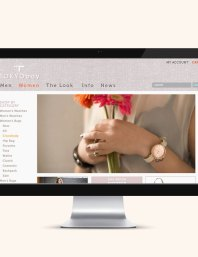 San Francisco based Fashion and Accessories company TokyoBay website design
