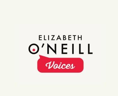 Elizabeth O'Neill Voices logo design