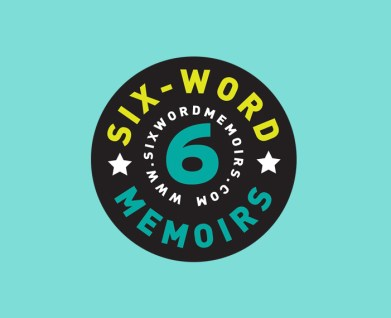 Logo Identity design for Six-Word Memoirs book project