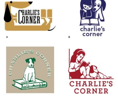 Branding design case study for Charlie's Corner