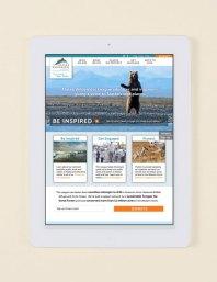 Web design for environment nonprofit Alaska Wilderness league