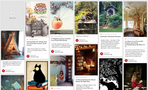 using pinterest for the design process