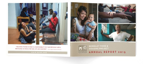 Annual Report design for non profit BFHP
