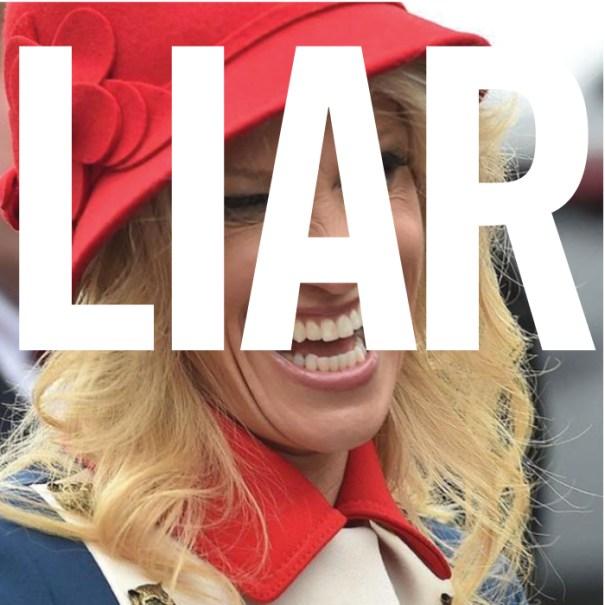 Kellyanne Conway is a liar