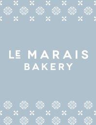 Le Marais logo and branding