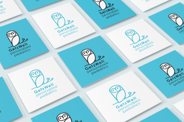 branding and stationery design for San Francisco pediatrician