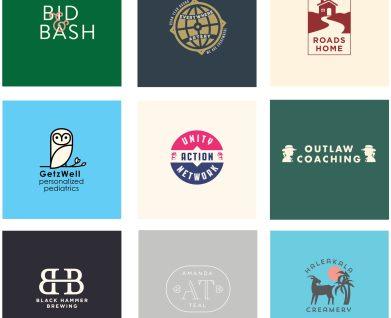 branding and logo design for unique bay area companies