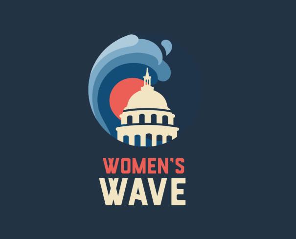 Women's March Women's Wave logo 2019