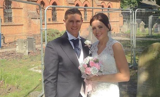 Newlyweds keep All Saints Church as part of their special day