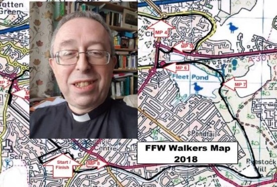 Sponsor Mark's Walk for All Saints