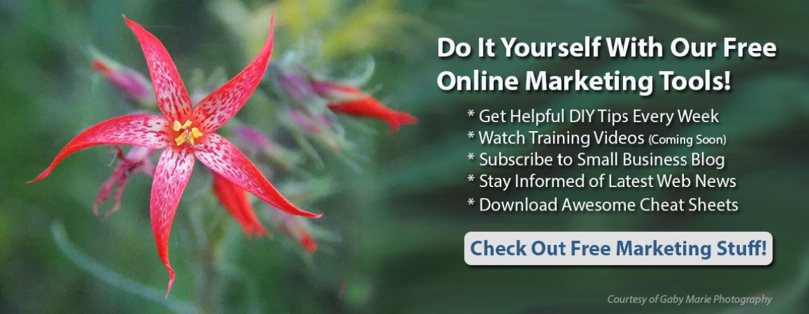 Do It Yourself with Our Free Online Marketing Tools