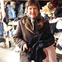 Clothing Drive 2015 Recipient