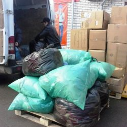Clothing Drive 2014 Shipping