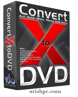 VSO ConvertXtoDVD 7.0.0.73 Crack + Serial Key Latest 2022