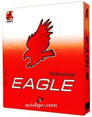 CadSoft Eagle Pro 9.7.1 Crack + License Key Download 2022