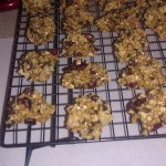 Oatmeal cherry dark chocolate potato chip cookies!