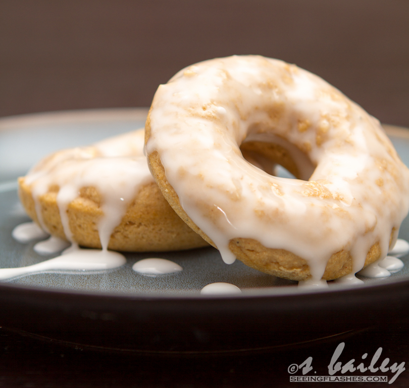 Skinnified Sunday Birthday Cake Donuts