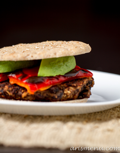 Black Bean Burgers #vegan #glutenfree