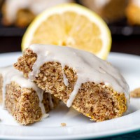 Drink & Dish: Lemon Almond Meal Scones {with video}