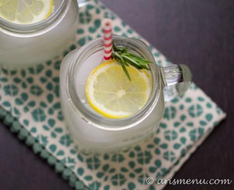 Rosemary Lemonade #sugarfree