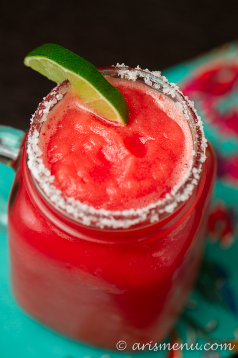 Restaurant-style Watermelon Margaritas