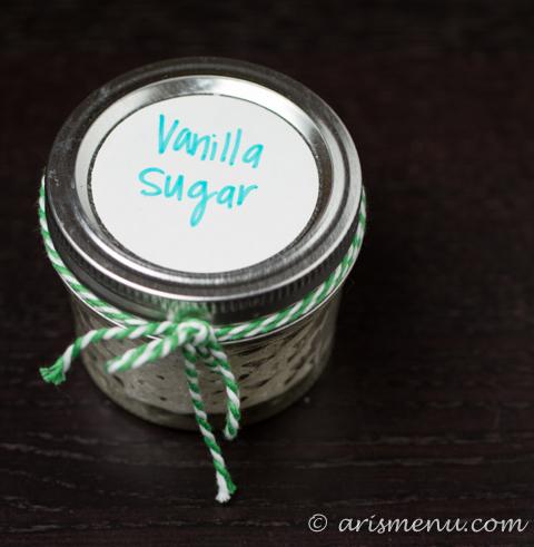 Vanilla Sugar via foodiemisadventures.com