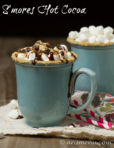 S'mores Hot Cocoa: Looks decadent, but healthier than you'd think!