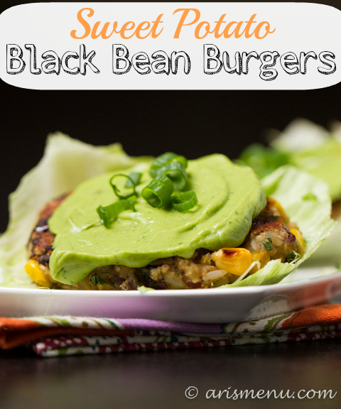 Sweet Potato Black Bean Burgers: Bold, flavorful, vegan & gluten-free
