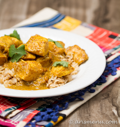 Healthy Crockpot Chicken Tikka Masala: NO prep, easy, healthy & gluten-free