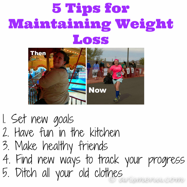 5 Tips for Maintaining Weight Loss {even if you don't own a scale!}