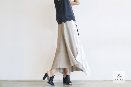 「EZUMi」リネンスカートにときめきを♪