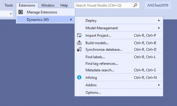Update to Visual Studio 2019 for #MSDyn365FO 20
