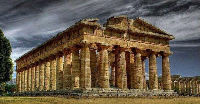 Ο ναός του Ποσειδώνος