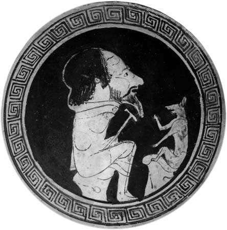 Άνθρωπος καταστρέφει άγαλμα | Αισώπου Μύθοι