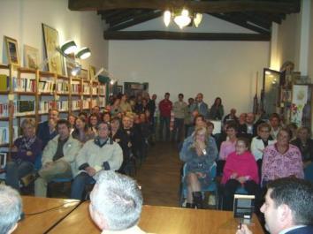 Pubblico presente in sala