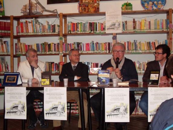 Il relatore Dott. Agostino Garda con i due autori