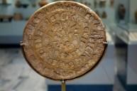 Ο Δίσκος της Φαιστού στο Μουσείο Ηρακλείου.