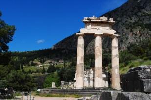 The tholos at Delphi