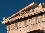 Parthenon, Eastern Pediment, Dionysus and chariot of the Sun
