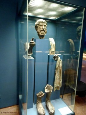 """The statue dubbed the """"Philosopher of Antikythera"""""""